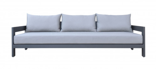 Renava Wake - Modern Charcoal Outdoor Sofa