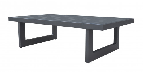 Renava Wake - Modern Charcoal Outdoor Coffee Table
