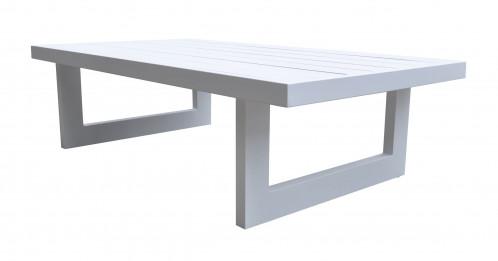 Renava Wake - Modern White Outdoor Coffee Table