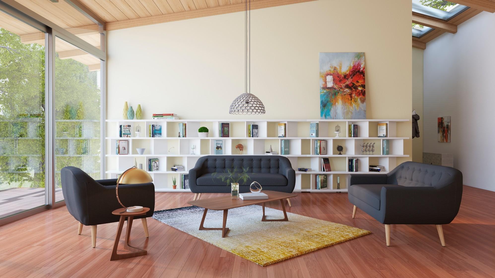 Retro Relaxation Living Room
