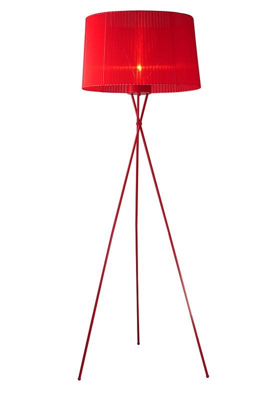 2010 Modern Red Floor Lamp