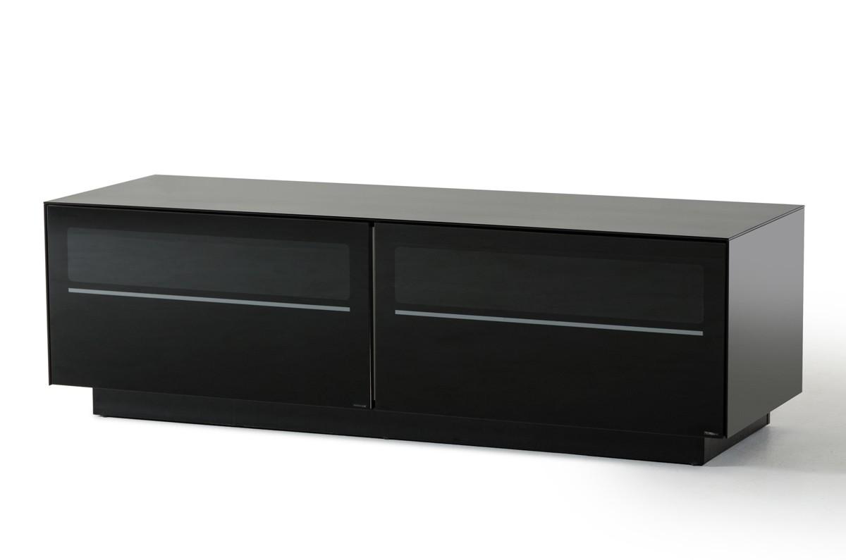 Modrest Carter Contemporary Black Tv Stand