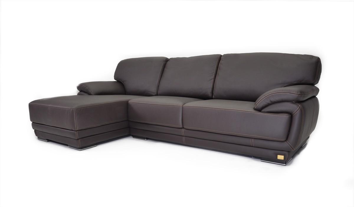 Geneve Italian Leather Sectional Sofa