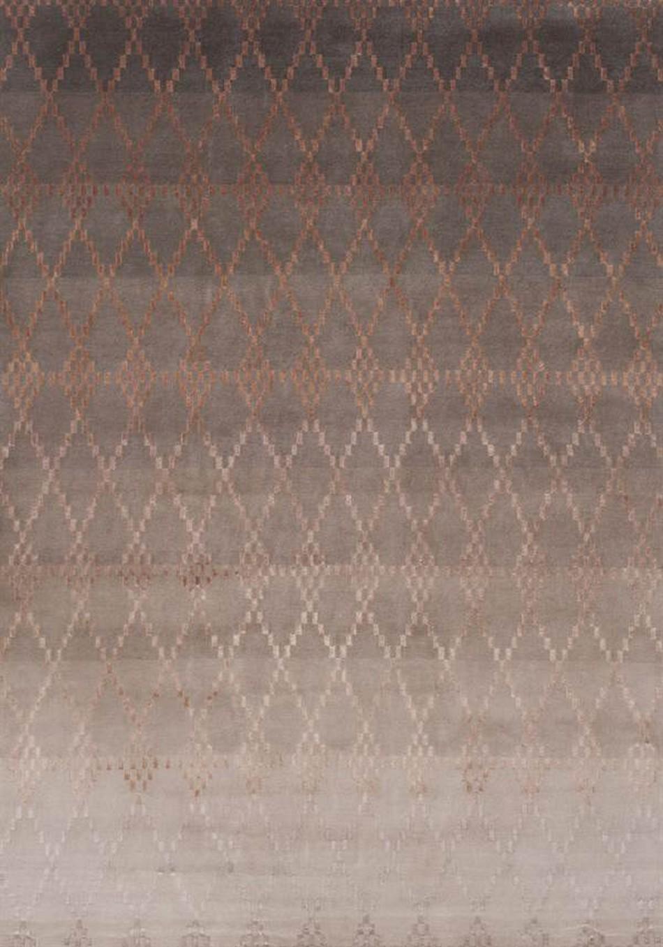 Linie Design Misty Powder Hand Made Wool Rug
