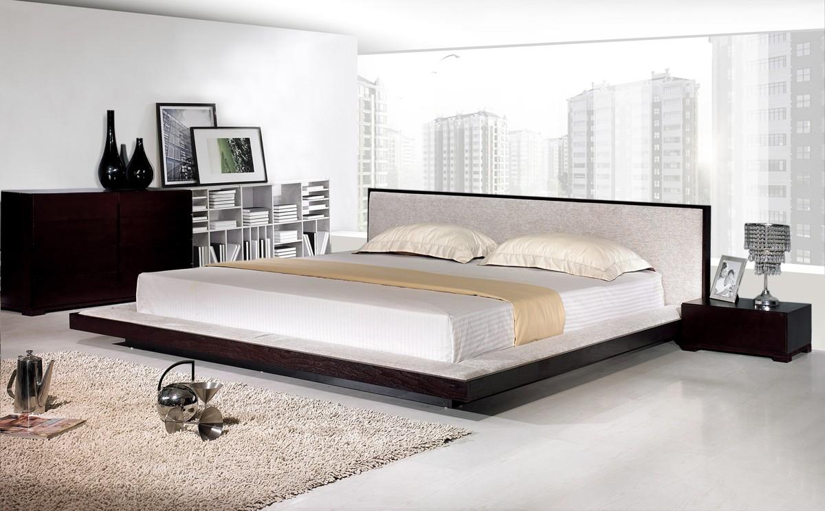 . Comfy Modern Platform Bed