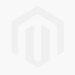Modrest Garrett Modern White Faux Marble & Stainless Steel Dining Table