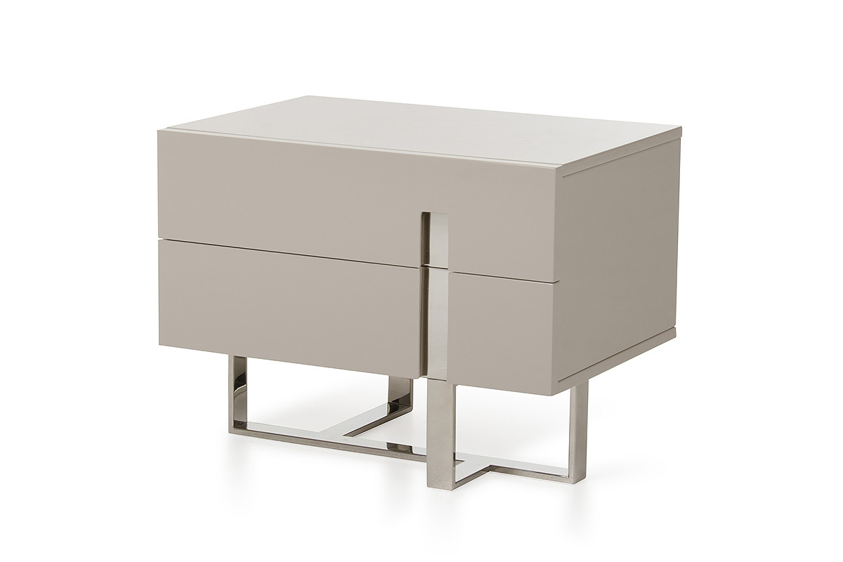 stunning white lacquer nightstand furniture. modrest voco modern grey nightstand stunning white lacquer furniture