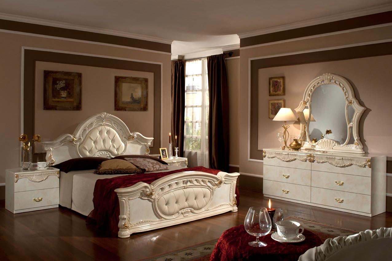 Rococo Beige Gold Italian Classic