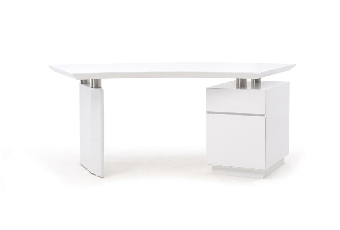Modrest Stanford Modern White Office Desk