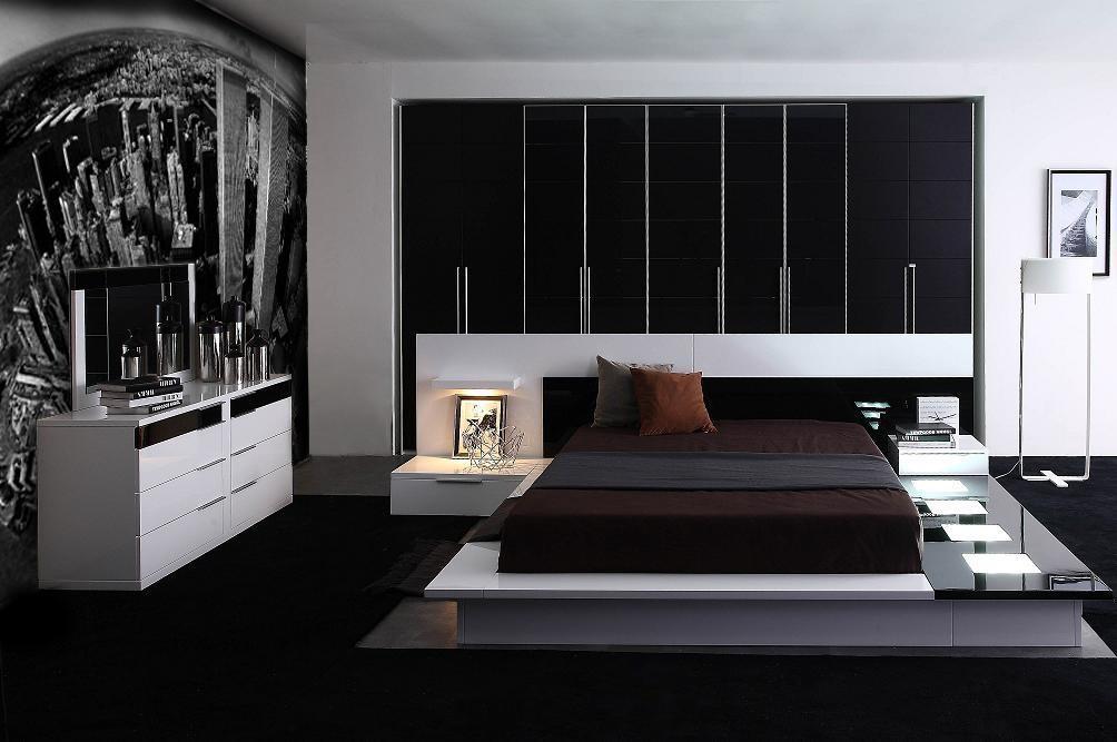 Modern Platform Bed Eastern King